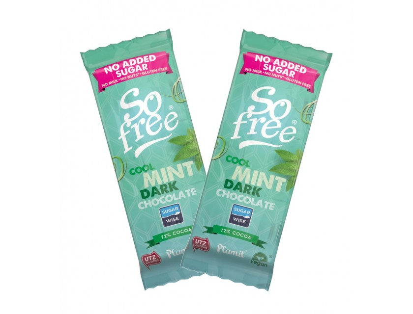 Plamil So Free Schokolade Cool Mint Dark 35g