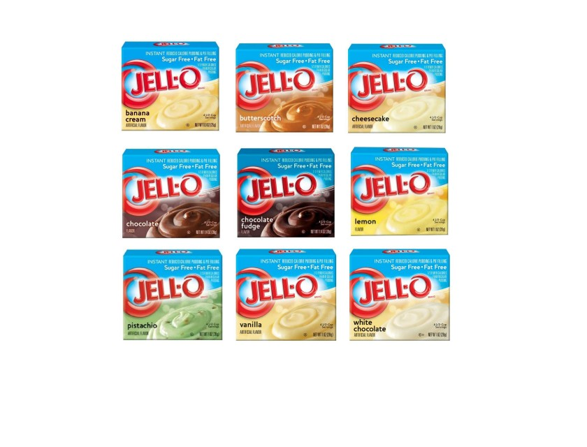 Jell-O Pudding zuckerfrei