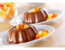 Chocolate Flan Pudding DietiMeal (7 Portionen)