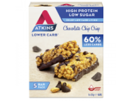 Atkins Chocolate Chip Crisp Multi Pack 5x 150g